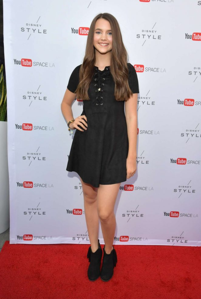 Chloe East - Launch event of Destination: Disney Style at YouTube Space in LA