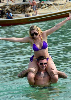 Chloe Ferry – Wearing Bikini in Thailand Pic 5 of 35