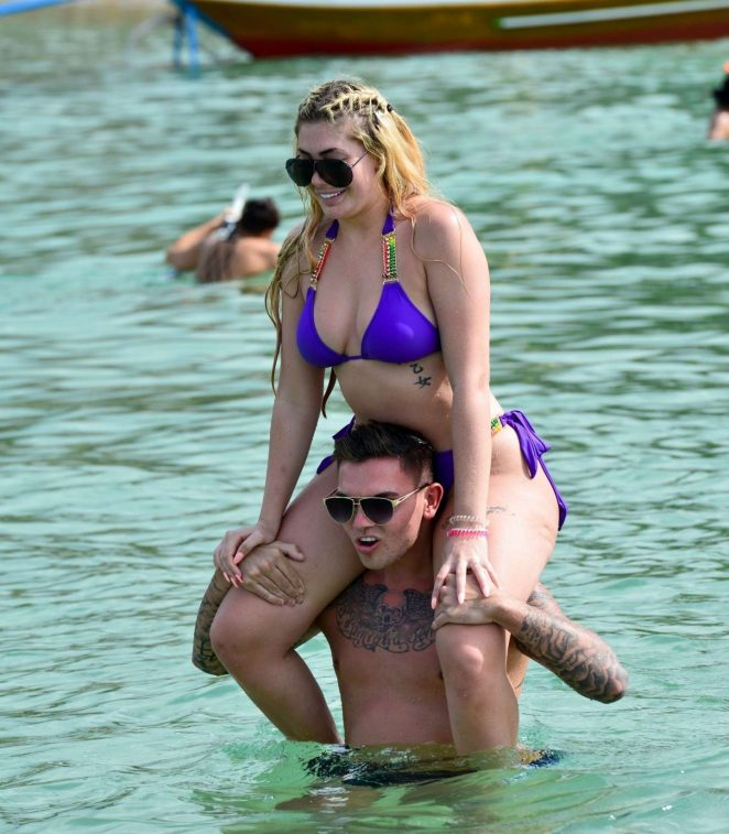 Chloe Ferry – Wearing Bikini in Thailand Pic 3 of 35