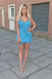 Chloe Ferry - Celebrating on the Toon with Friends in Newcastle