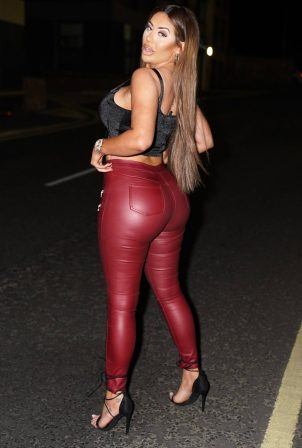Chloe Ferry - Geordie Shore cast out in Newcastle