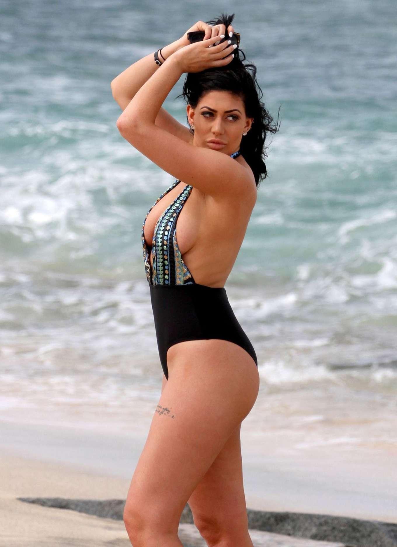 Chloe Ferry In Swimsuit 2016 03 Gotceleb