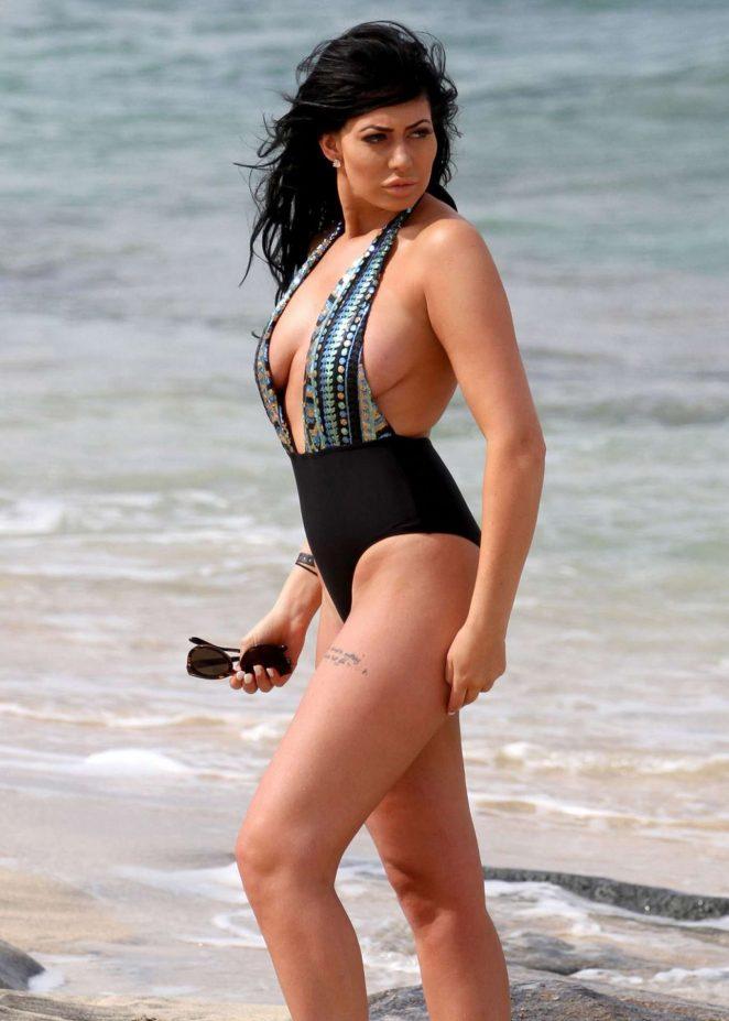 Chloe Ferry in Swimsuit in Cape Verde