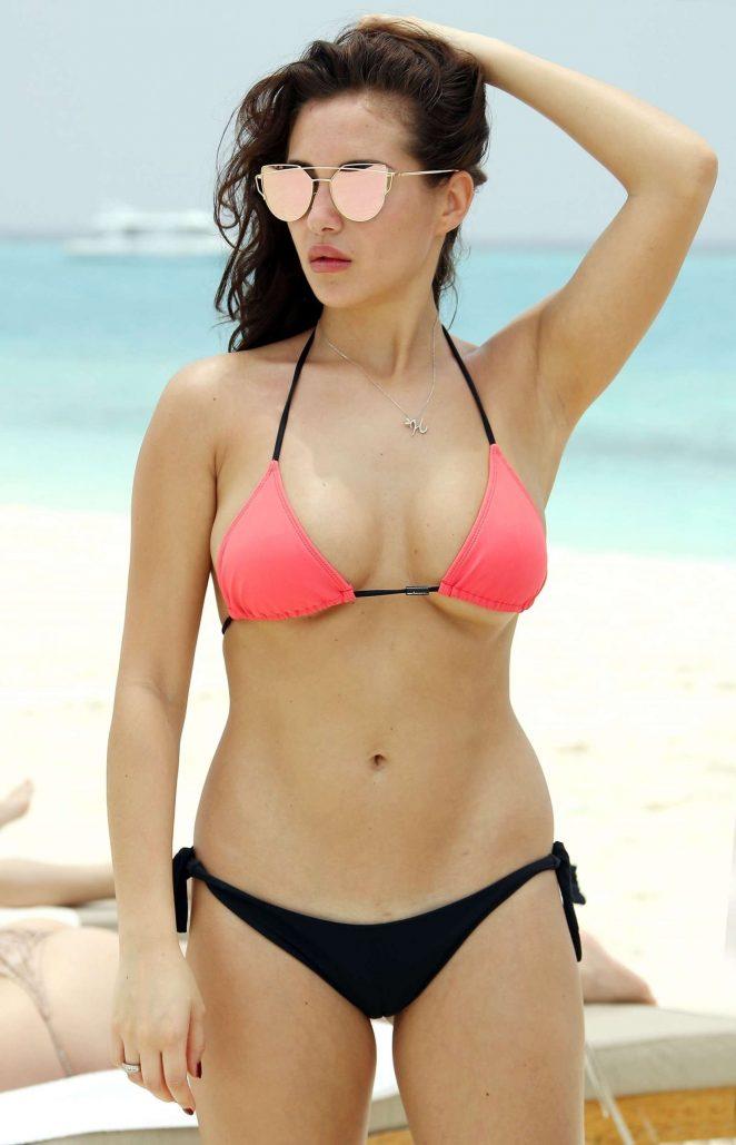 Chloe Goodman in Bikini in Dubai