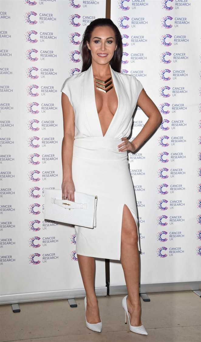 Chloe Goodman - James Ingham's Marathon Cancer Fundraising Event in London