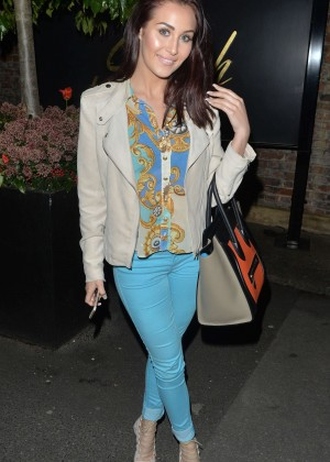 Chloe Goodman - Night out at Sheesh in Chigwell
