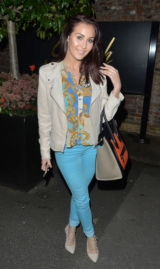 Chloe Goodman – Night out at Sheesh in Chigwell