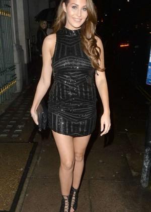 Chloe Goodman - Night out in London