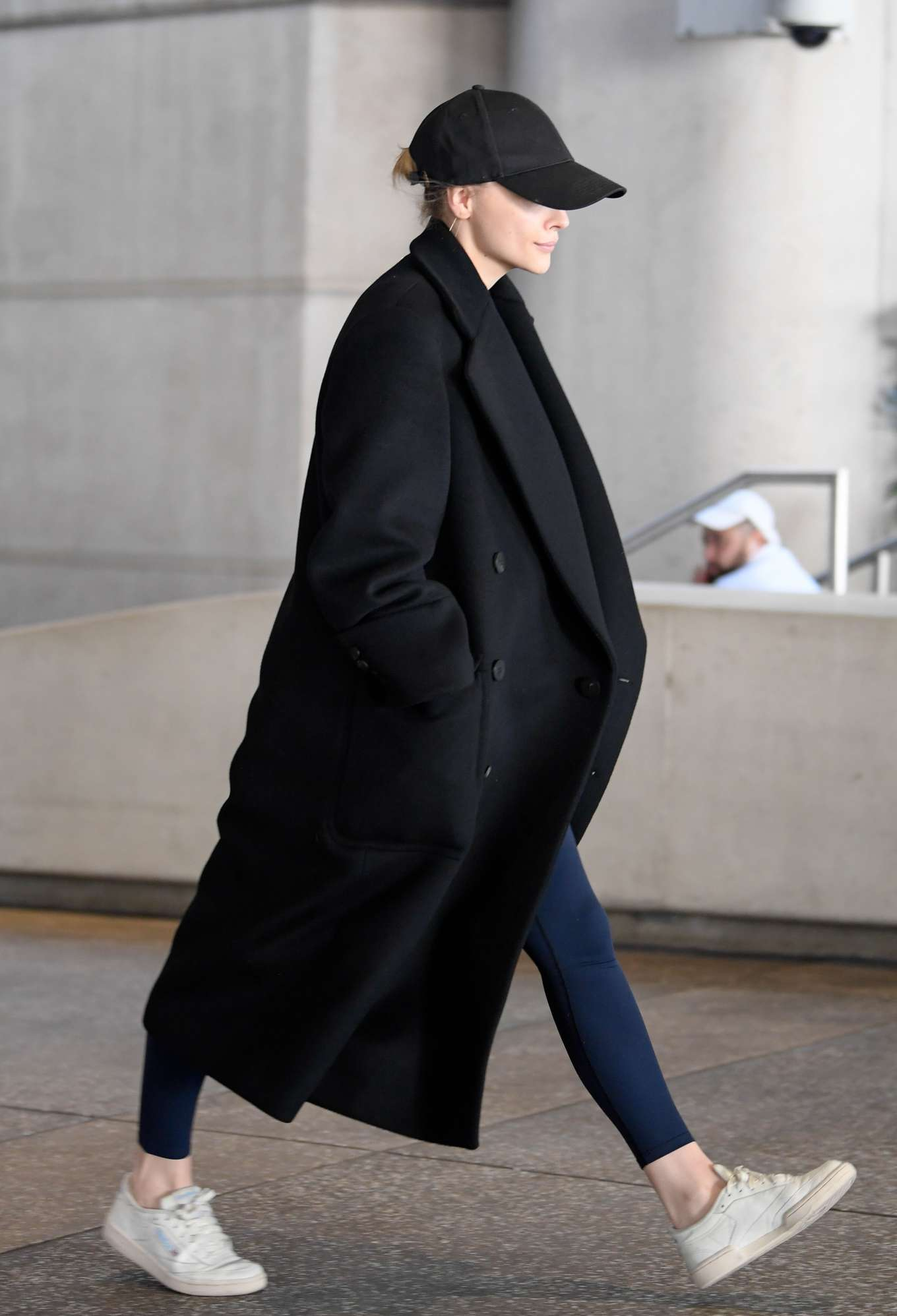 Chloe Grace Moretz - arriving to Los Angeles International Airport