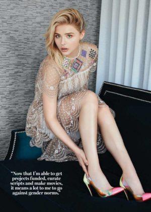 Chloe Grace Moretz - Glamour Magazine Magazine (South Africa 2017)