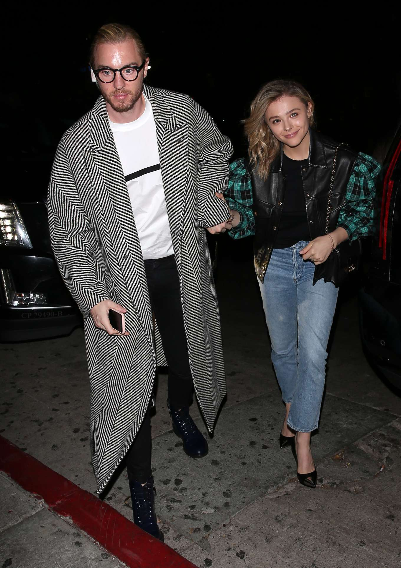 Chloe Grace Moretz - Night out with her brother Trevor Moretz in West Hollywood