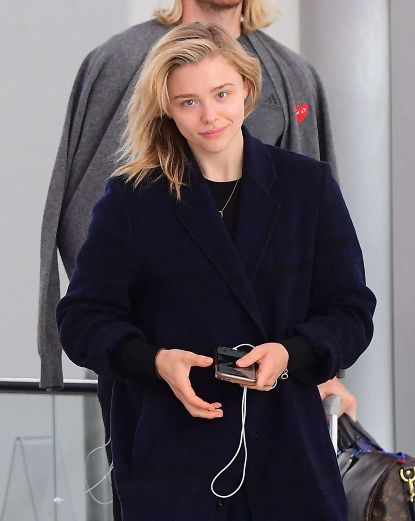 Chloe Grace Moretz - Seen at Newark Airport in New York