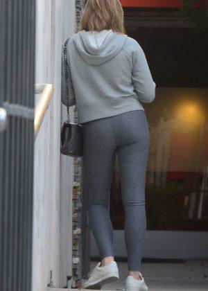 Chloe Grace Moretz - Seen Leaving hair salon in Los Angeles