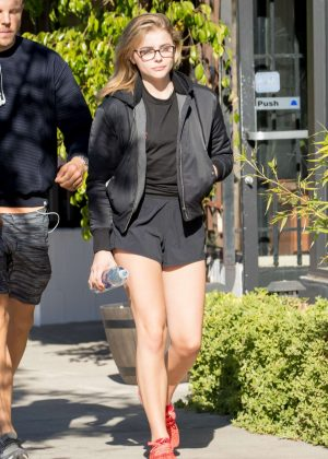 Chloe Grace Moretz - Seen out for breakfast in Los Angeles