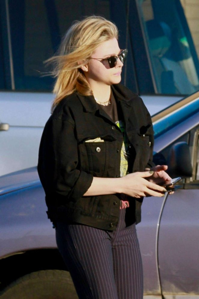 Chloe Grace Moretz - Seen While Out in Los Angeles