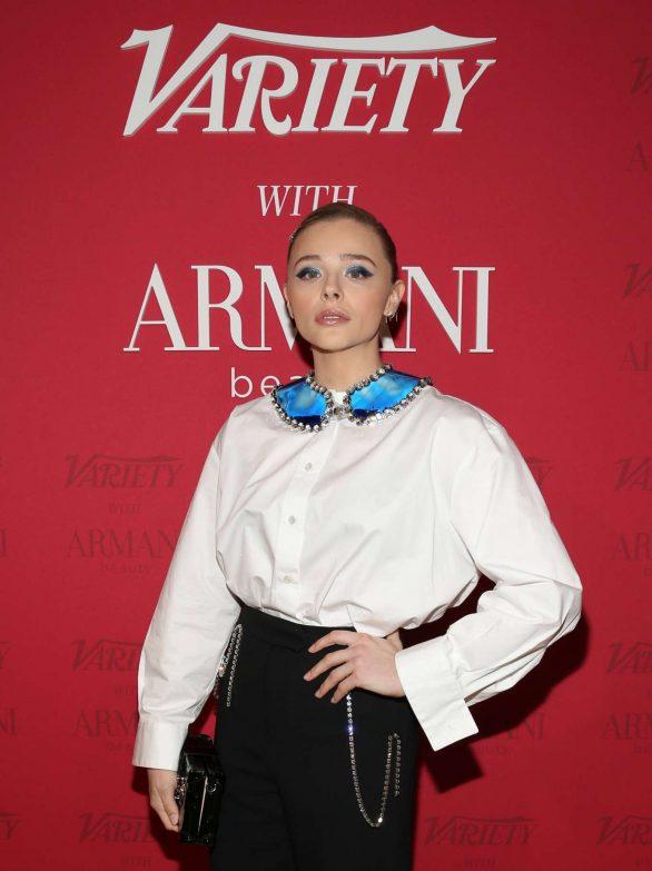 Chloe Grace Moretz - Variety x Armani Makeup Artistry Dinner - Sunset Tower