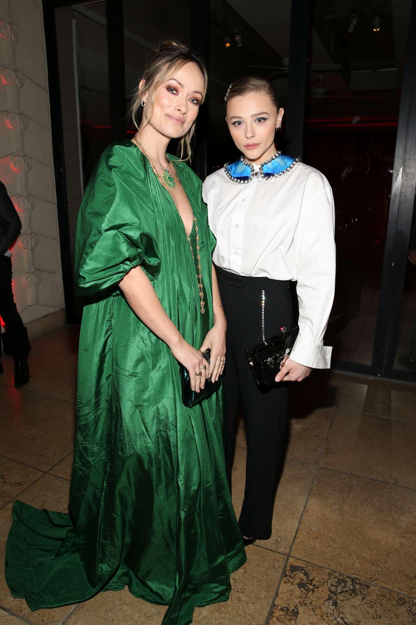 Chloe Grace Moretz 2020 : Chloe Grace Moretz – Variety x Armani Makeup Artistry Dinner – Sunset Tower-07