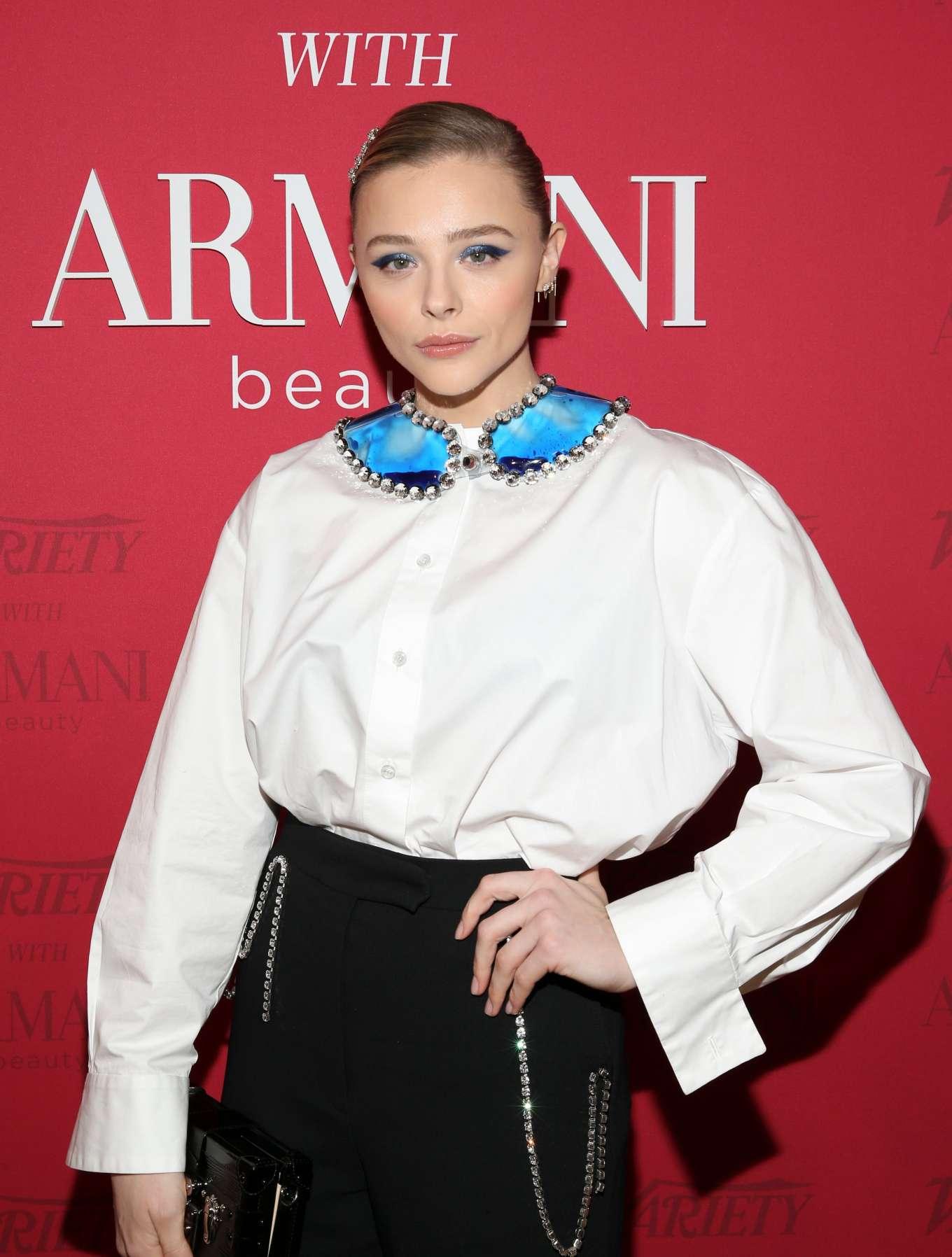 Chloe Grace Moretz 2020 : Chloe Grace Moretz – Variety x Armani Makeup Artistry Dinner – Sunset Tower-09