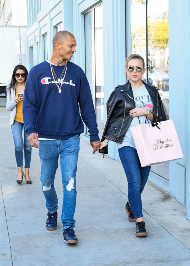 Chloe Green and Jeremy Meeks - Out in Los Angeles