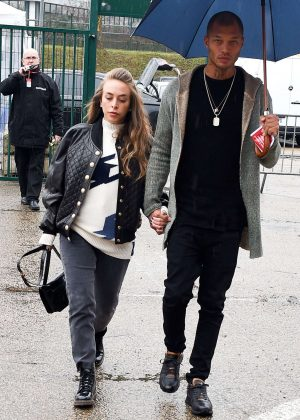 Chloe Green and Jeremy Meeks out in Paris