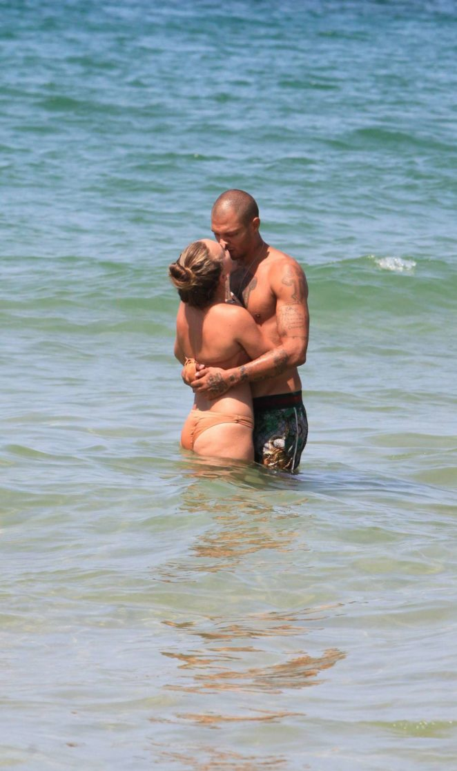Chloe Green - Bikini on the beach in Israel