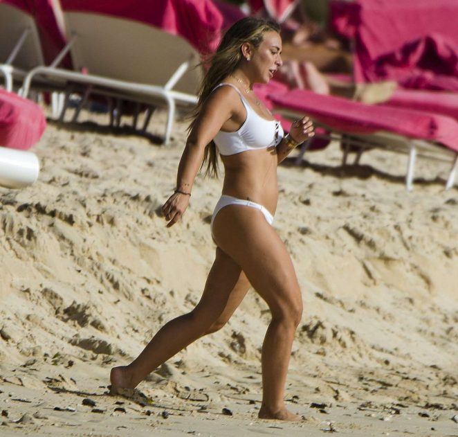 Chloe Green in White Bikini 2017 -11