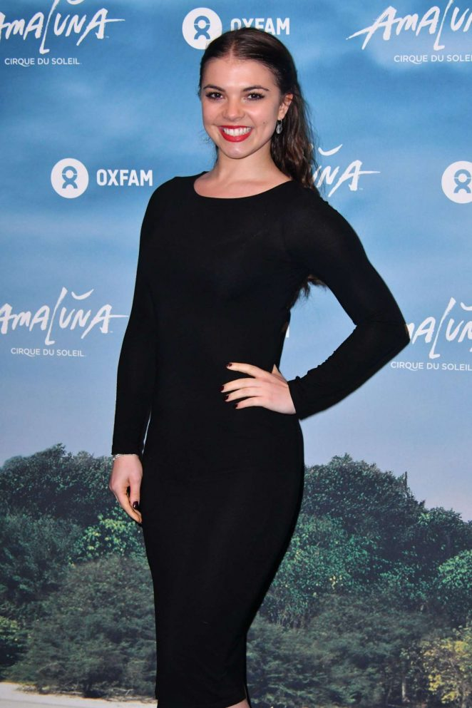 Chloe Hewitt - Cirque du Soleil 'Amaluna' Press Night in London