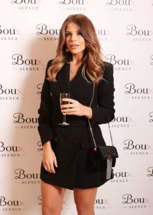 Chloe Lewis - Boux Avenue AW17 Campaign Launch in London