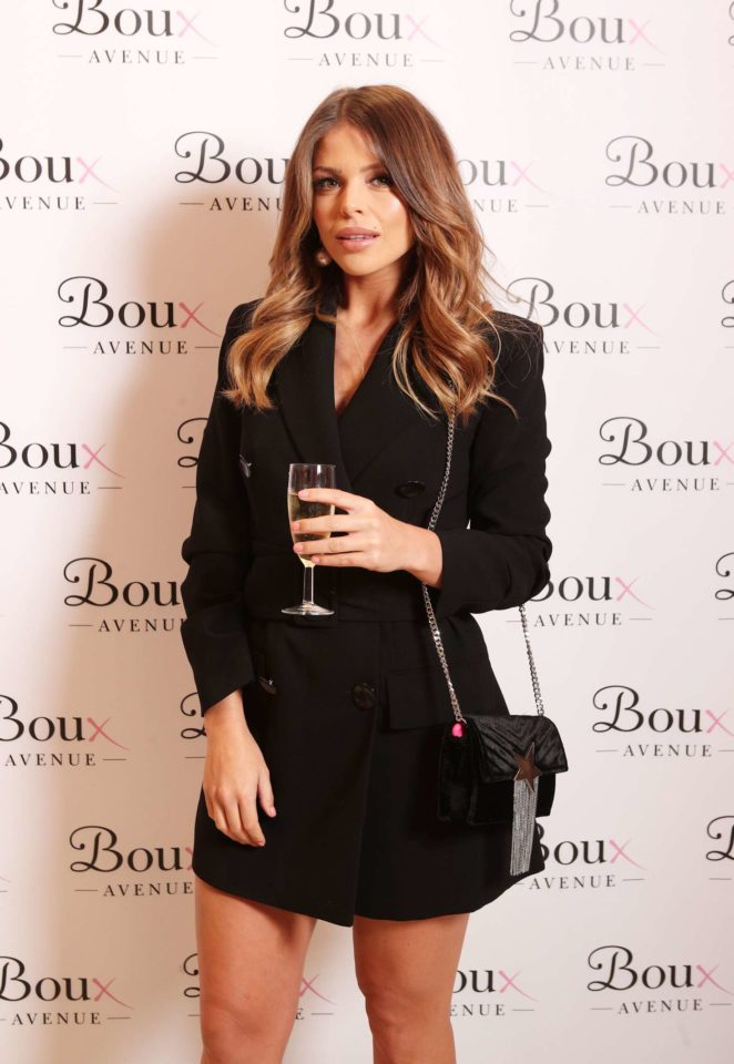 Chloe Lewis – Boux Avenue AW17 Campaign Launch in London