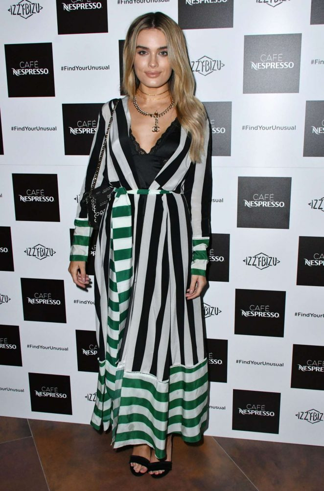 Chloe Lloyd - Nespresso Launch Party in London