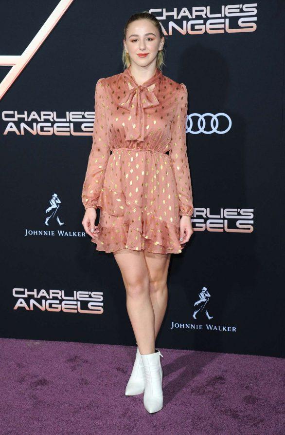 Chloe Lukasiak - 'Charlie's Angels' Premiere in Westwood