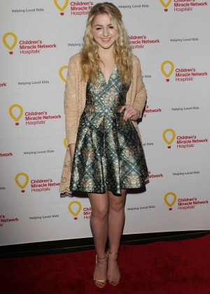 Chloe Lukasiak - Children's Miracle Network Hospitals' Winter Wonderland Ball in Hollywood