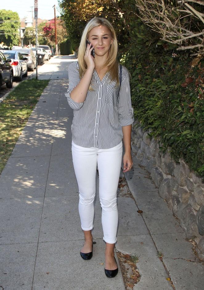Chloe Lukasiak in Tight Jeans -02