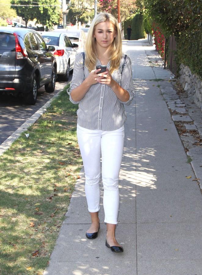 Chloe Lukasiak in Tight Jeans -03