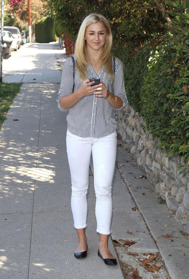 Chloe Lukasiak in Tight Jeans -06