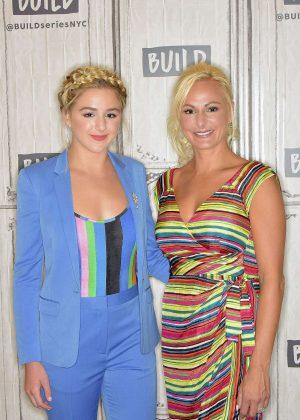 Chloe Lukasiak - Visits AOL BUILD to discuss 'Dance Moms' at Build Studio in NYC