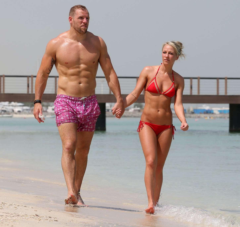 Chloe Madeley in Red Bikini -2...