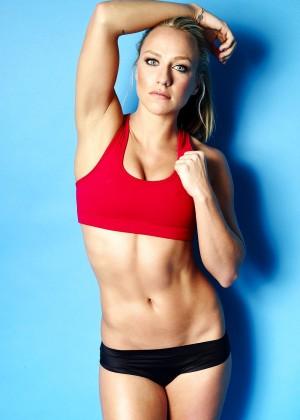 Chloe Madeley Workout Photoshoot 2016