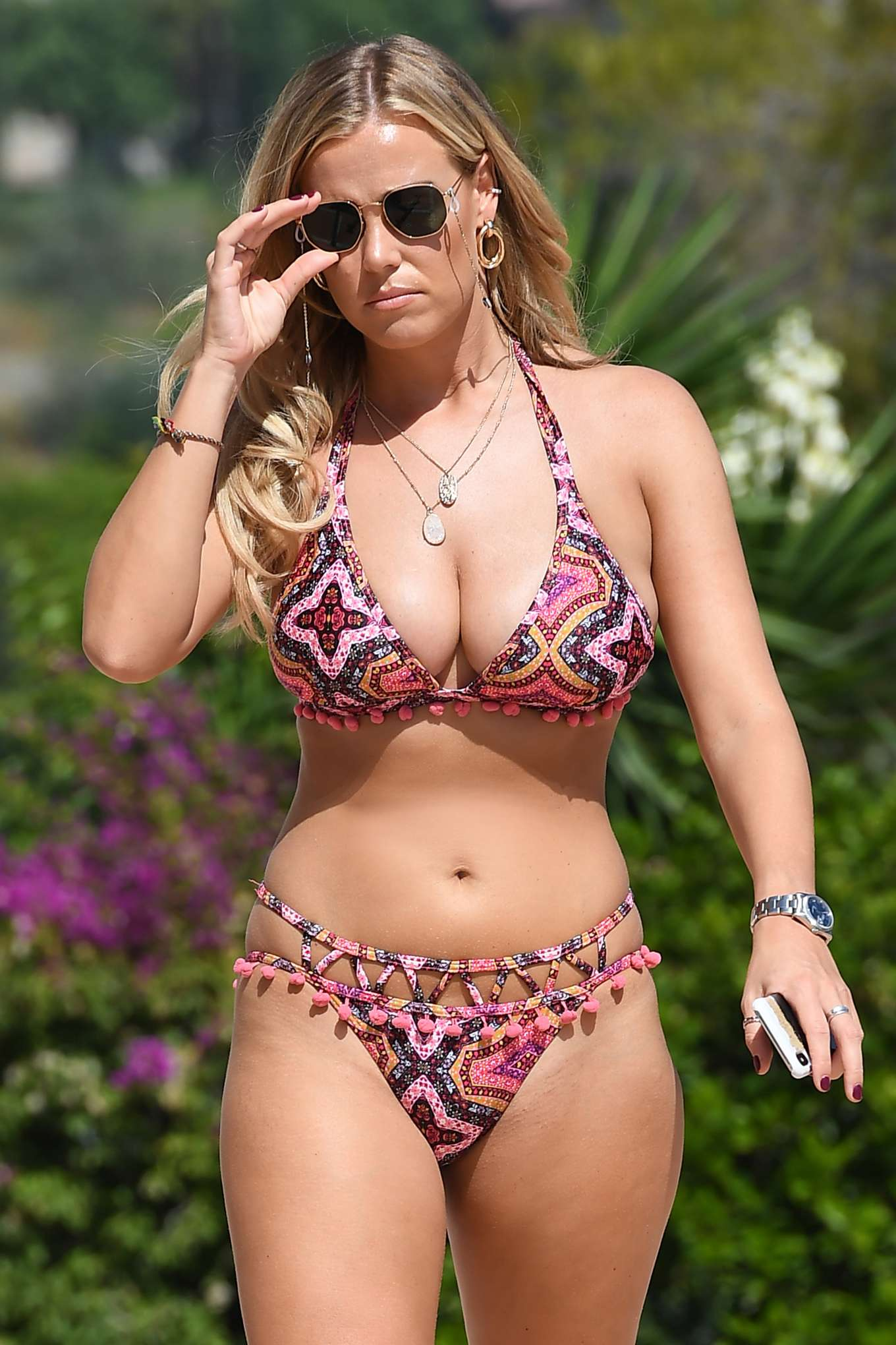 Chloe Meadows in Bikini in Marbella