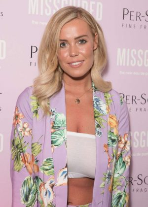Chloe Meadows - Missguided New Fragrance Launch Party In London