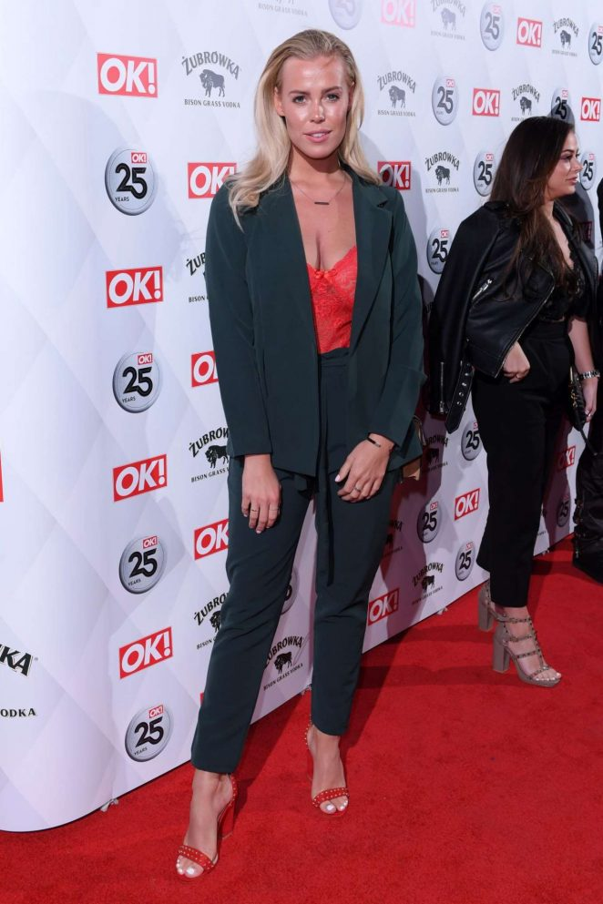 Chloe Meadows -  OK! Magazine's 25th Anniversary Party in London