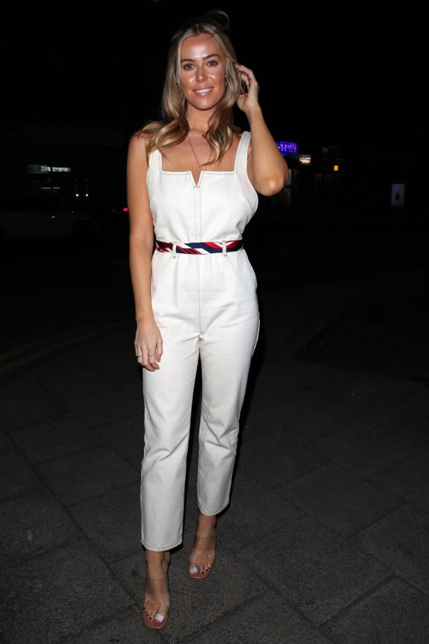 Chloe Meadows - Posing at The Only Way is Essex TV Show set in Essex