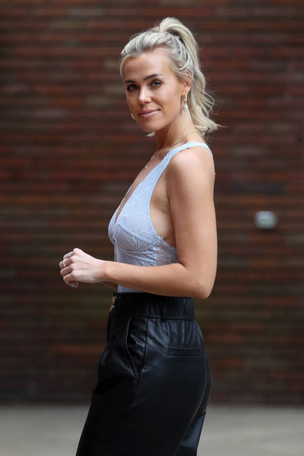 Chloe Meadows - The Only Way is Essex TV Show filming