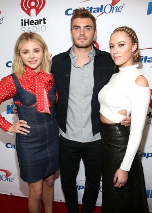Chloe Moretz - 102.7 KIIS FM's Jingle Ball 2015 in Los Angeles