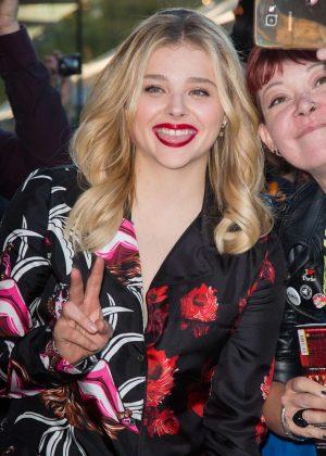Chloe Moretz - 7th Champs Elysees Film Festival in Paris