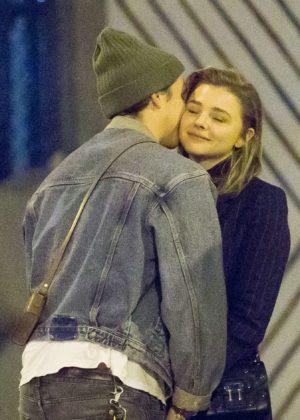 Chloe Moretz and Brooklyn Beckham Enjoys a romantic date in NYC
