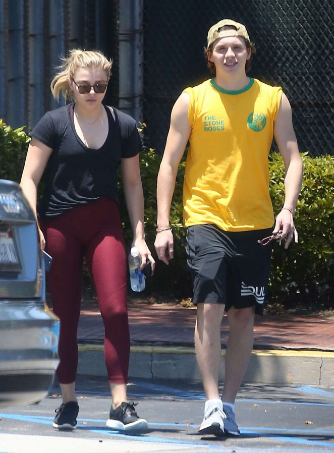 Chloe Moretz and Brooklyn Beckham out in Los Angeles