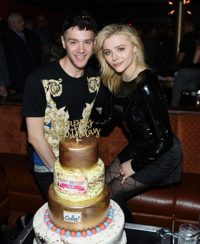 Chloe Moretz and her brother Colin Moretz – Celebrate their birthday in Las Vegas