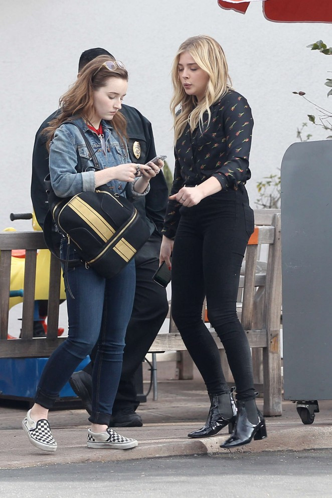 Chloe Moretz and Kaitlyn Dever - Out for lunch in Los Angeles