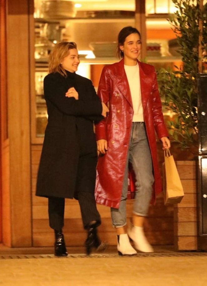 Chloe Moretz and Kate Harrison - Out in Malibu